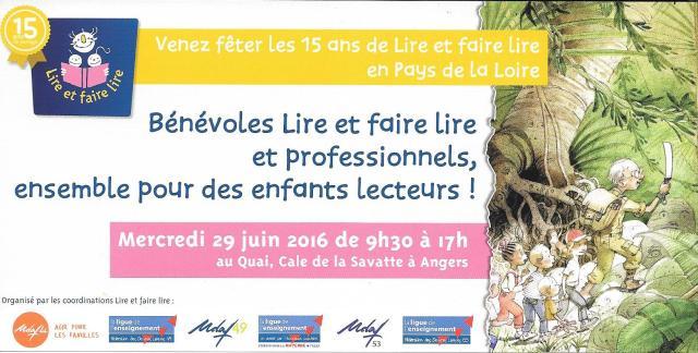 Invitation LFL 15 ans