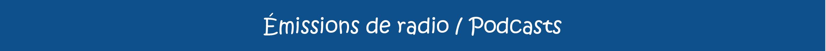 Bannière-emissionsradio