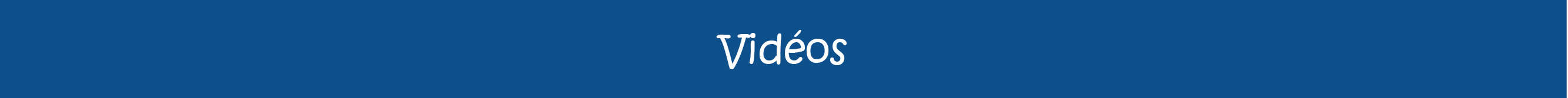 Bannière-vidéos
